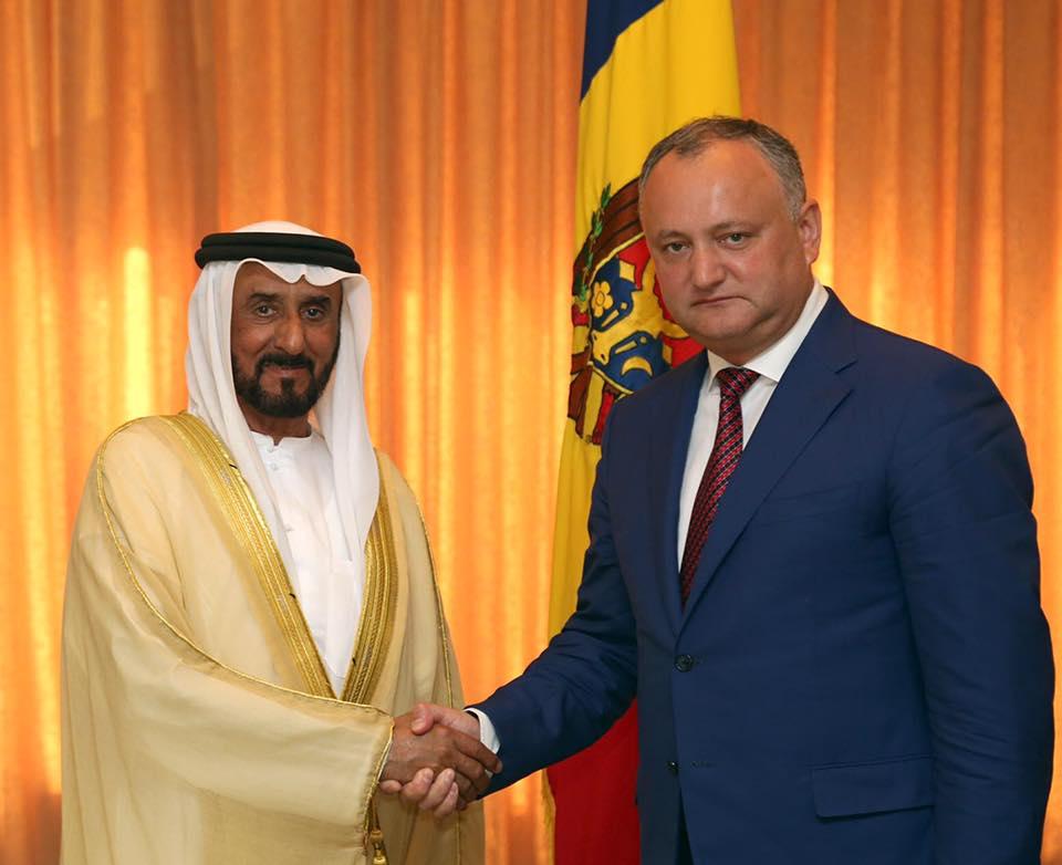 ОАЭ хотят открыть в Молдове финансовый центр