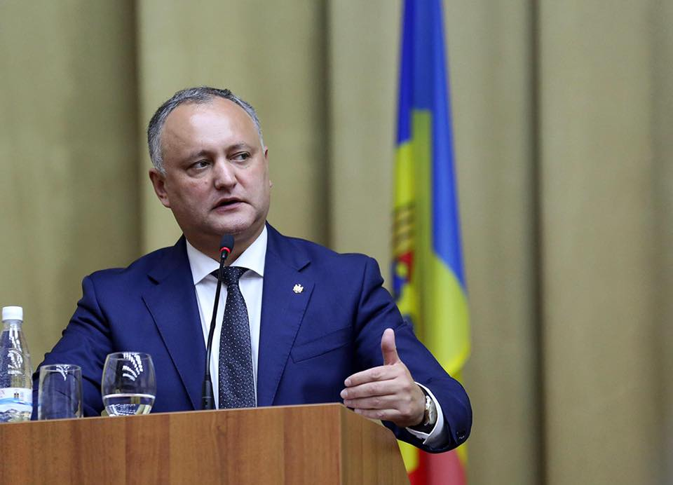 Президент – руководству Приднестровья: Не надо дальше поощрять ненависть друг к другу