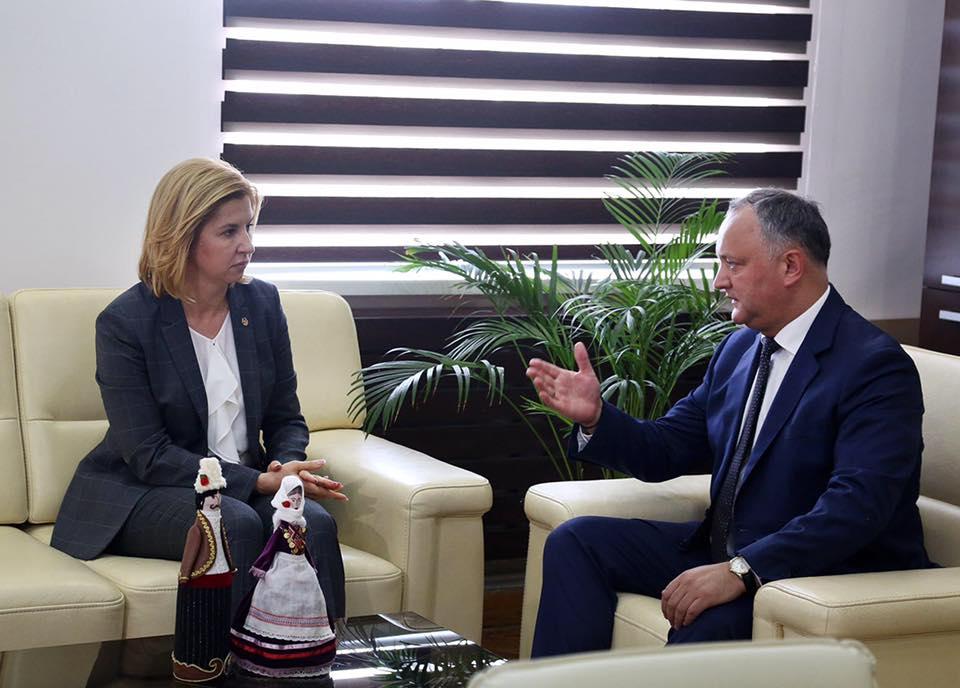 Президент отправился с рабочим визитом в Гагаузию