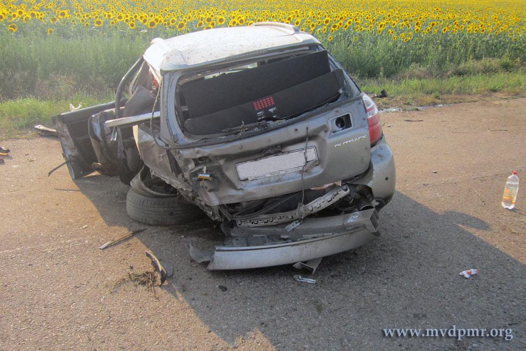Двое взрослых и подросток пострадали в ДТП в Слободзейском районе (ФОТО)
