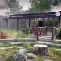 Заброшенное кафе в центре столицы охватило пламя (ФОТО)