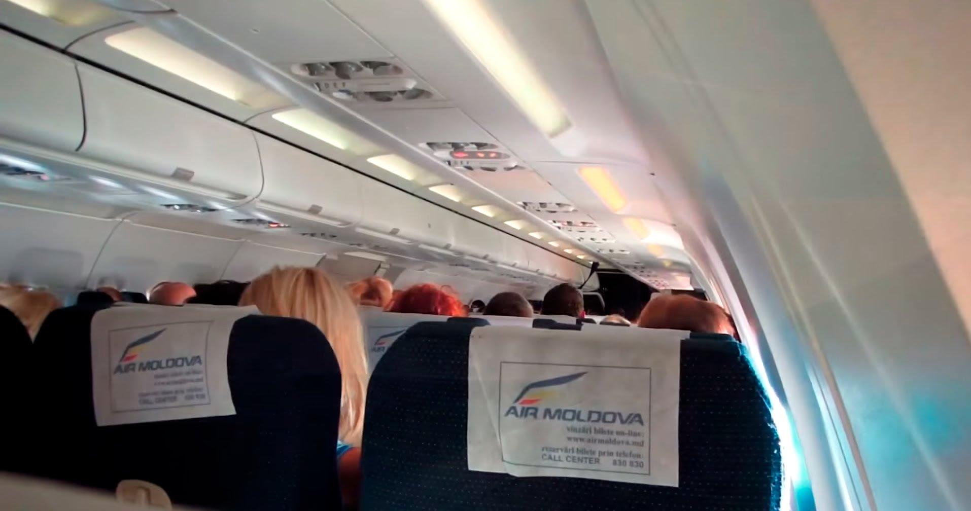 В Air Moldova пояснили причину мучений пассажиров в душном самолете