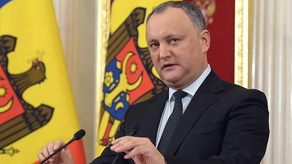 Додон: Не допущу превращения Молдовы в «банановую республику» (ВИДЕО)