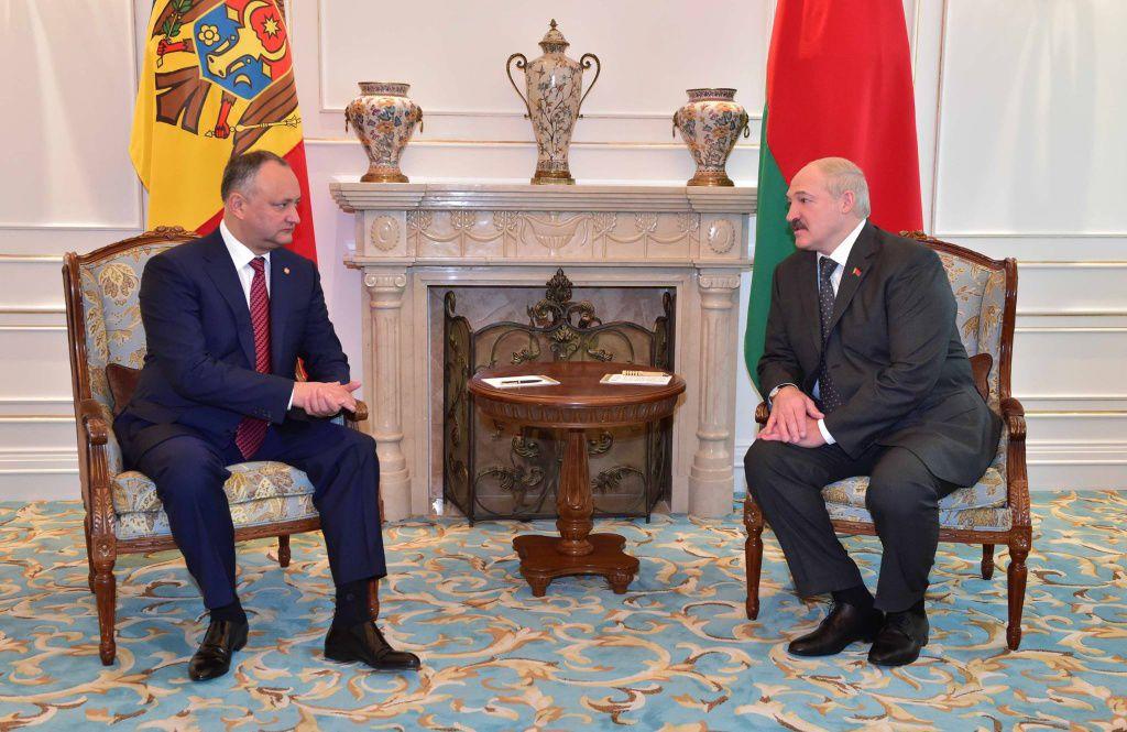 Игорь Додон совершает рабочий визит в Беларусь