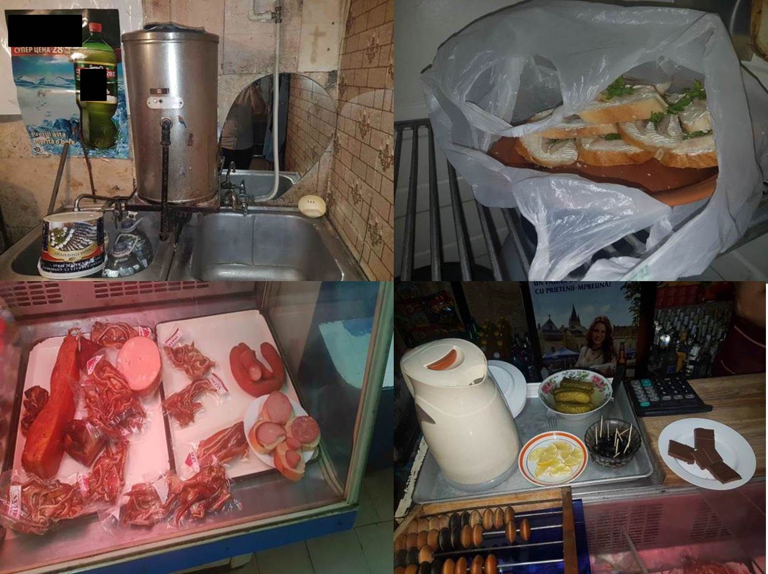 Антисанитарию, просроченные продукты, подделанный алкоголь и пистолет обнаружили в магазинах Кишинева (ВИДЕО)