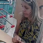 Полиция разыскивает женщину, обменявшую валюту в кассе (ВИДЕО)