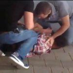 Захват мошенника в жилом доме столицы показали на видео