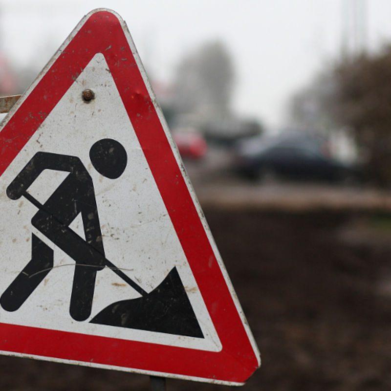Оживлённый перекрёсток в центре столицы перекрыт на 2 дня