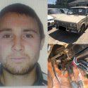 Угонщик автомобиля в Кишиневе бросил его, не сумев продать (ВИДЕО)