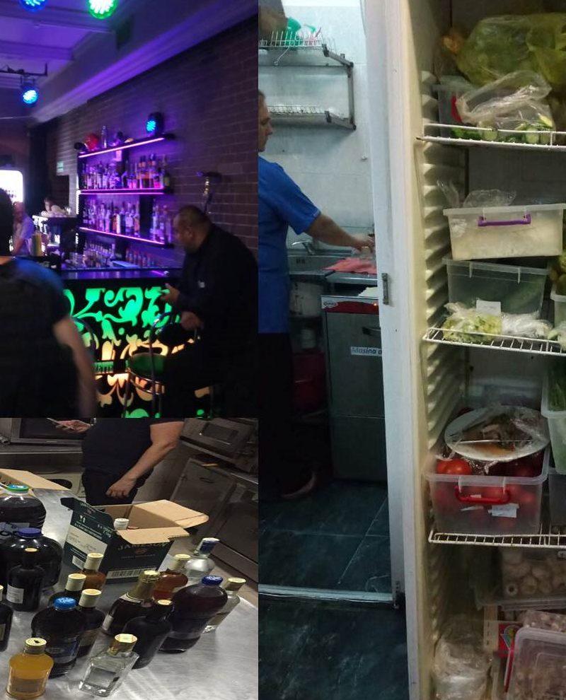 Контрафактный алкоголь и просроченные продукты продавали в столичных клубах (ВИДЕО)