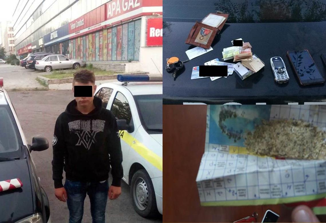 Пять молодых людей были задержаны в Кишиневе за употребление наркотиков (ВИДЕО)