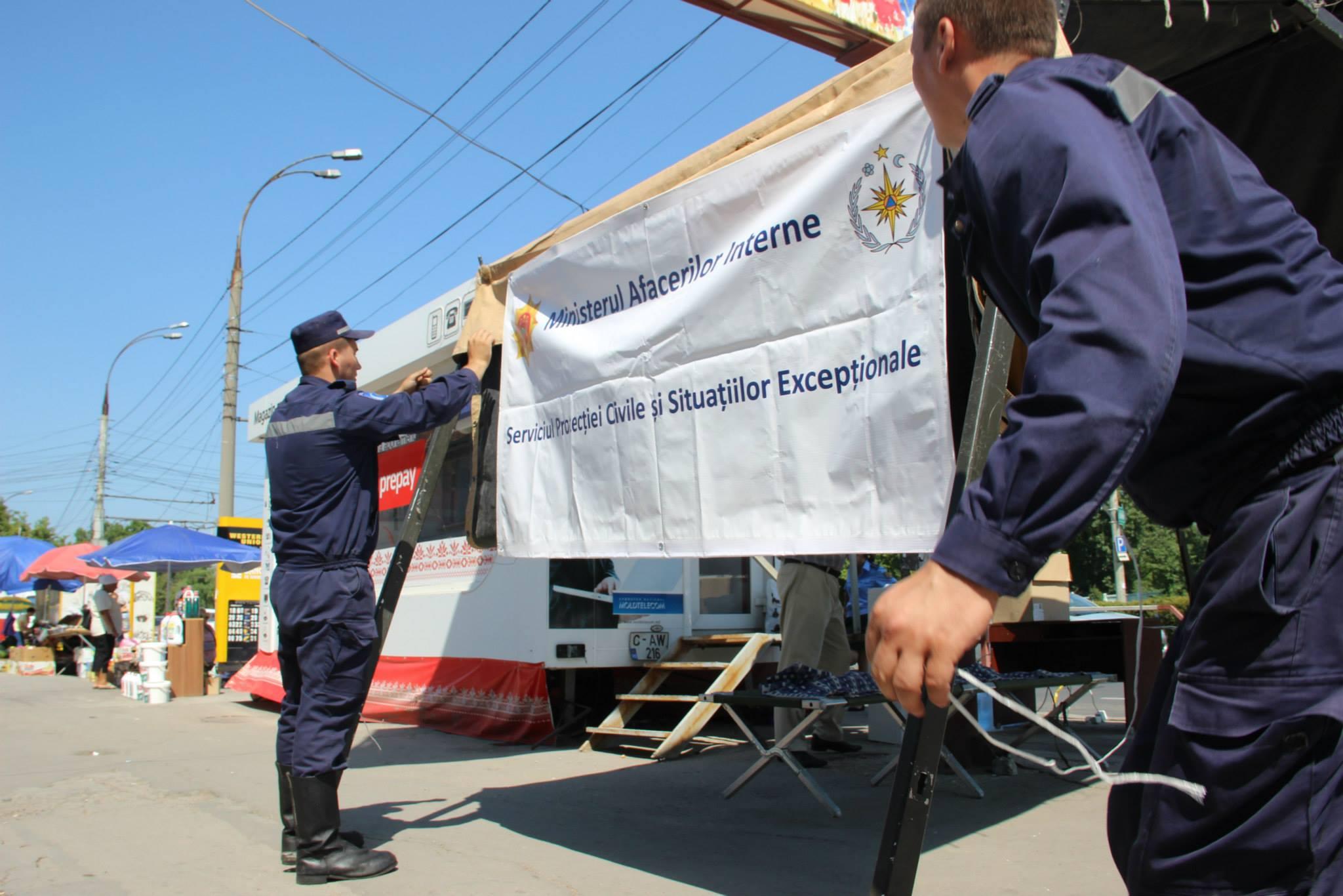 Палатки «антижара» возвращаются на улицы Кишинева и других районов страны