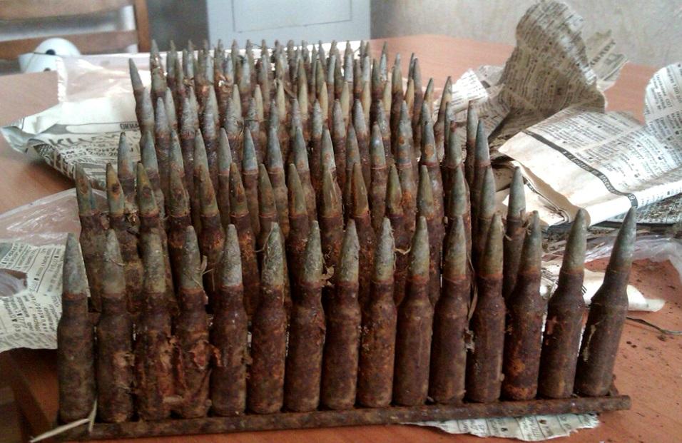 Двое любопытных жителей Тирасполя случайно обнаружили боеприпасы (ФОТО)