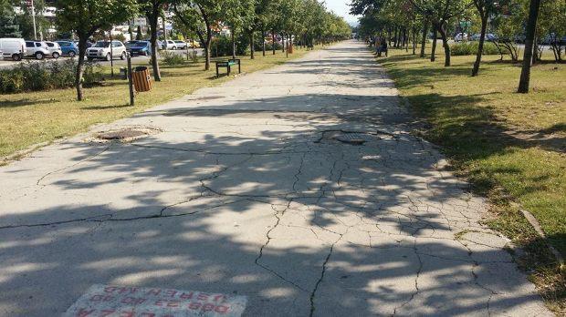 Социалисты добились выделения средств и на капитальный ремонт улицы Зелинского (ВИДЕО)