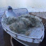 Инспекторы Рыбнадзора поймали с поличным браконьеров на Дубоссарском водохранилище (ФОТО)