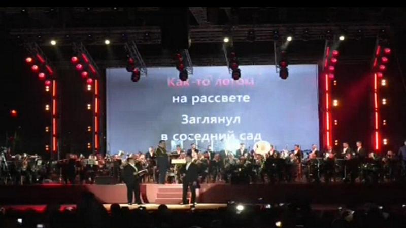 Около 50 тысяч человек в центре Кишинева хором спели «Смуглянку» (ВИДЕО)