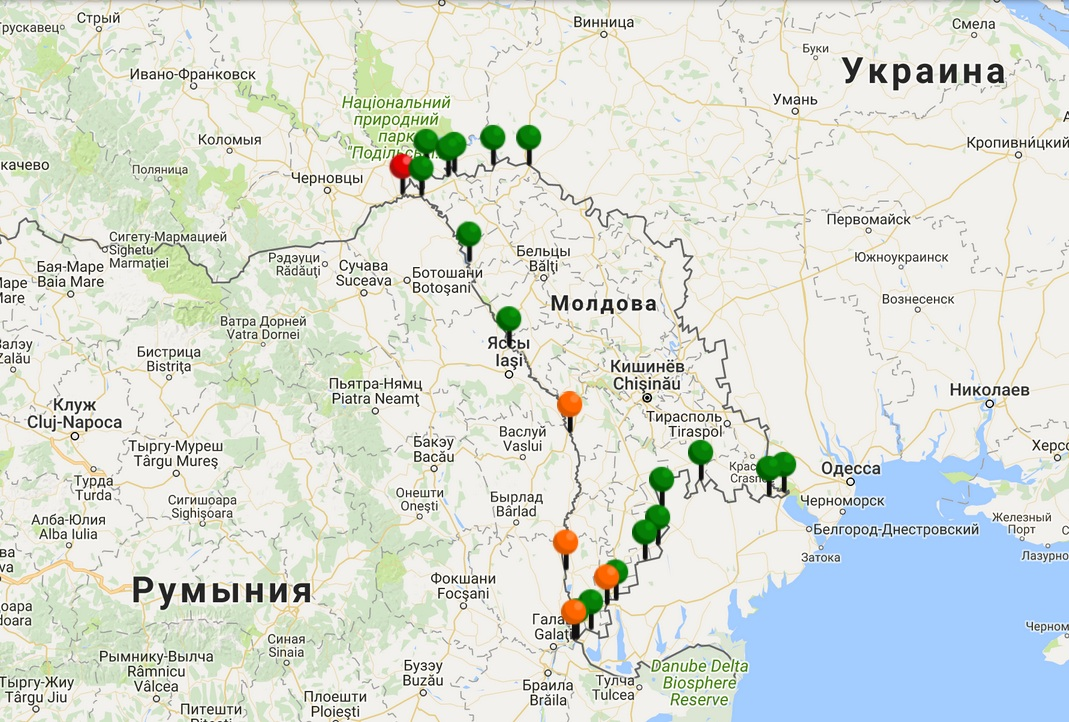 Внимание пересекающим границу: обстановка на таможенных пунктах Молдовы