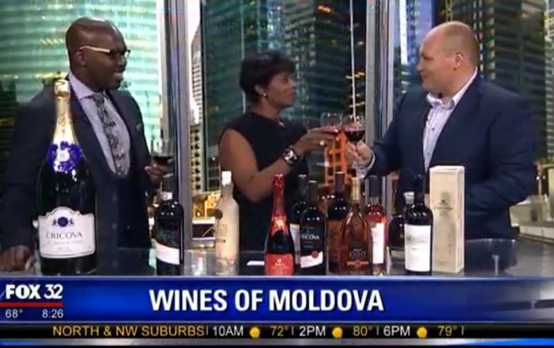 Молдавские вина и коньяки продегустировали в прямом эфире на американском телеканале (ВИДЕО)