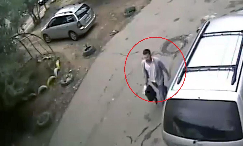 """Укравшего """"плохо лежавший"""" рюкзак мужчину ищет полиция Кишинева (ВИДЕО)"""