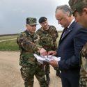 Президент посетит еще два военных объекта Молдовы