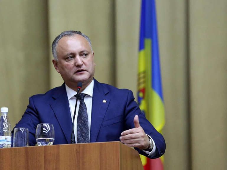 Додон об унионистах из политической «элиты»: Враги Молдовы, 26 лет паразитировавшие на гражданах (ВИДЕО)