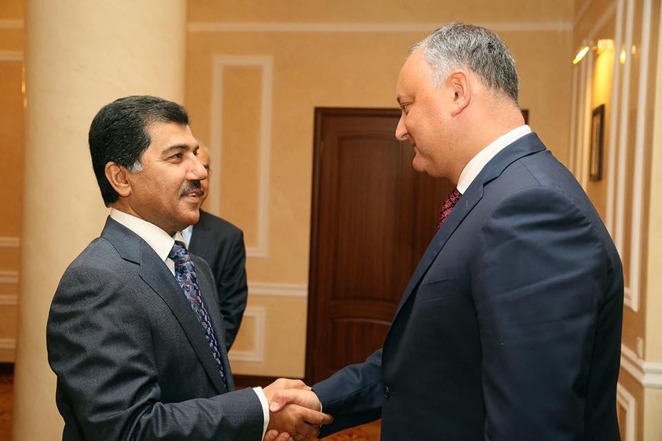 Додон: Молдове и Катару нужно активизировать сотрудничество