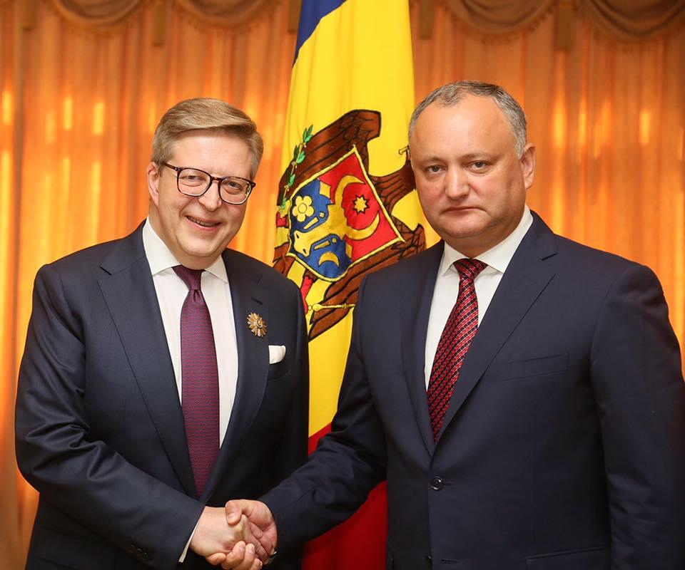 Пиркка Тапиола покидает пост главы делегации ЕС в Молдове