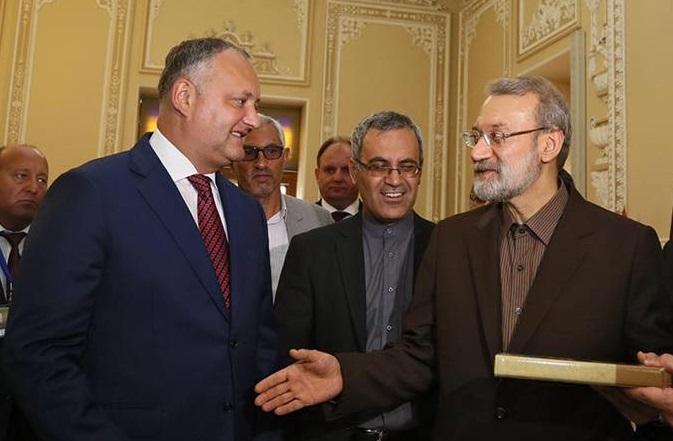 Расширение сотрудничества Молдовы и Ирана обсудил Додон на встрече с главой парламента