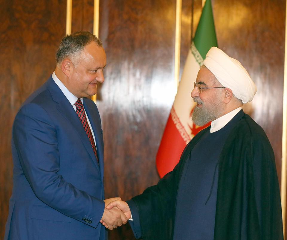 Потенциал отношений Молдовы и Ирана намерен активно использовать Игорь Додон