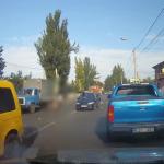 В Кишиневе грузовик насмерть сбил женщину на пешеходном переходе (ВИДЕО)
