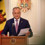 Додон: Выдвижение Стурзы на должность министра обороны – издевательство и шаг к ликвидации ведомства
