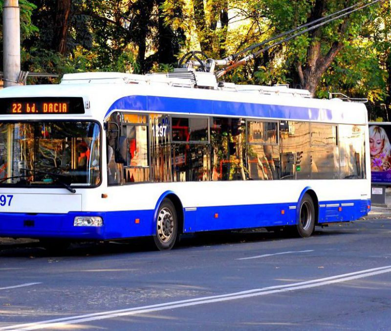 Чебан: Приоритетным транспортом в Кишинёве будут автобусы и троллейбусы