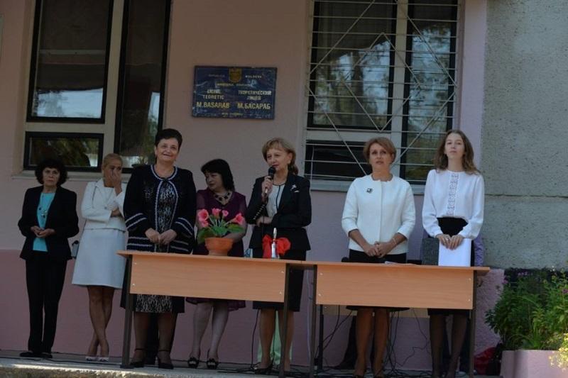 Зинаида Гречаный пожелала школьникам стать активными строителями прекрасного будущего Молдовы