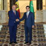 Президент Молдовы и глава Туркменистана обсудили потенциал для сотрудничества обеих стран