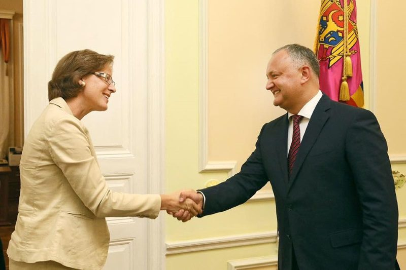 Президент выступил за активизацию сотрудничества между Молдовой и Германией (ФОТО)