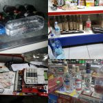 В столичном магазине обнаружили просроченные продукты и контрафактный алкоголь (ВИДЕО)
