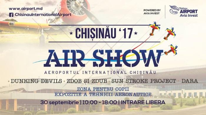 30 сентября в Кишиневе состоится грандиозное авиашоу
