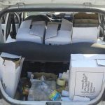 «Начиненный» водкой автомобиль обнаружили на севере Молдовы (ФОТО)