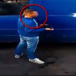 В столице разыскивают мужчину, укравшего сумку с деньгами из припаркованной машины