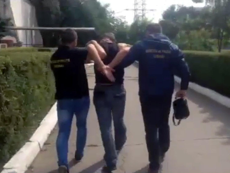 Особо опасный грабитель-рецидивист был задержан в Кишиневе (ВИДЕО)