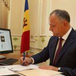 Игорь Додон принёс соболезнования президенту и народу Румынии в связи с последствиями урагана