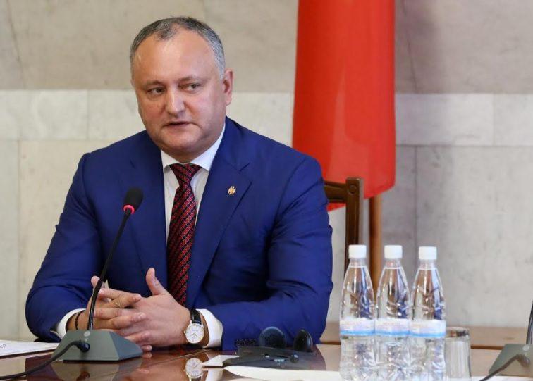 Игорь Додон пояснил, почему не приезжает с визитом в Приднестровье
