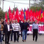 В Кагуле проходит марш в поддержку президента страны (LIVE)