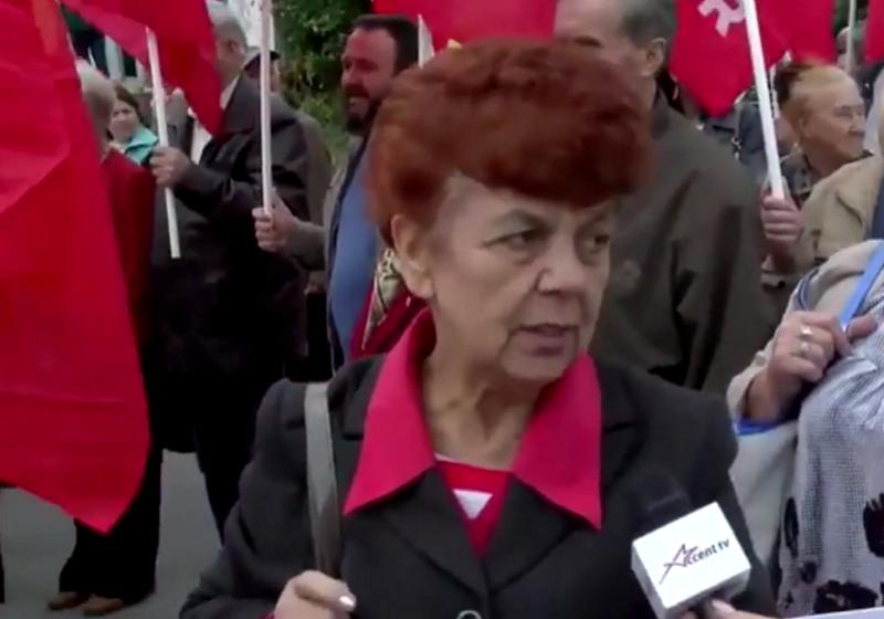 Протестующие: Требуем расширения полномочий президента! (ВИДЕО)