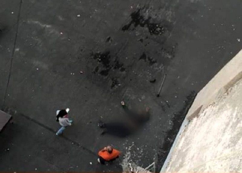 На Рышкановке мужчина выбросился с 10 этажа многоэтажки