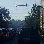 На перекрестке Руссо-Димо изменили режим работы светофора