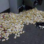 Более 100 тысяч пачек сигарет, спрятанных в днище микроавтобуса, попытались незаконно вывезти из Молдовы (ФОТО)