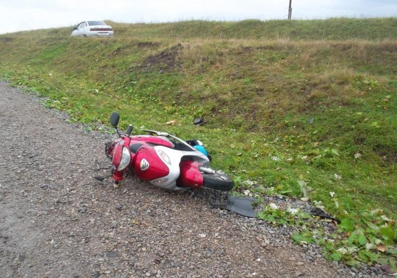 В Гагаузии пострадала 12-летняя пассажирка скутера, за рулем которого находился 15-летний подросток