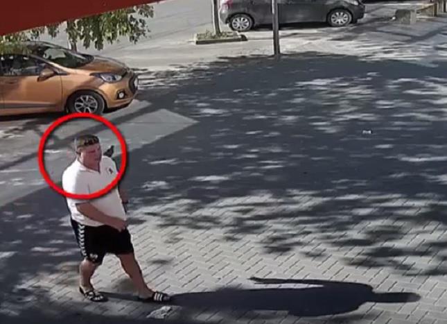 В Кишиневе ищут таксиста, лишившего клиента денег и телефона (ВИДЕО)