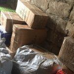 """Контрабандные товары с """"7 км"""" на миллион леев нашли молдавские таможенники (ВИДЕО)"""
